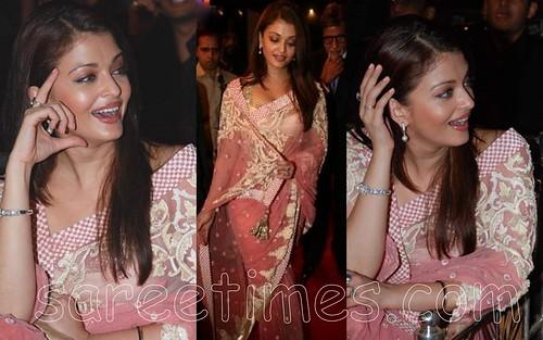 Aishwarya-Rai-pink-saree