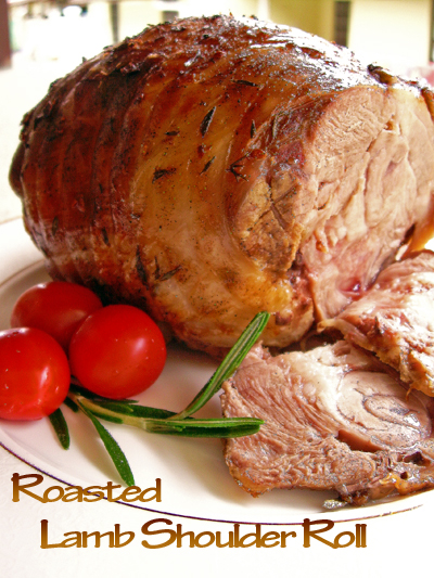 ... and i finally roasted it i ve always wanted to roast a lamb roll