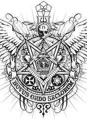 satanic masonic new world order (cropped version) (PAC UA 1972) Tags: