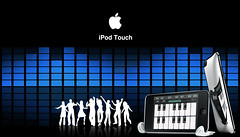 ipod touch (Design) (Saad Al-Enezi) Tags: blue people music black apple logo photography design dance mac ipod dancing touch silhouettes itunes designs sliver eq levels commercials ipodtouch saadalenzi grandpanio toneslevel designscommercialsphotography