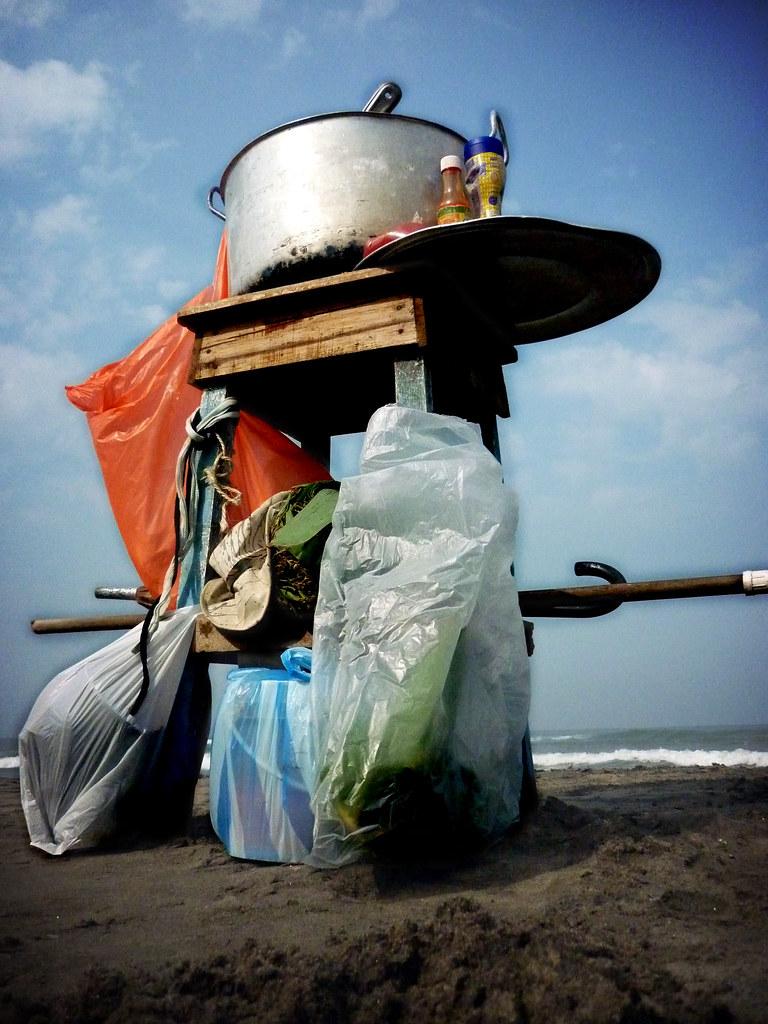 arroz de liza a orillas del mar
