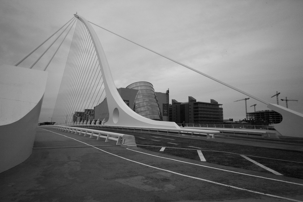 Dr. Santiago Calatrava, designed the Samuel Beckett Bridge.