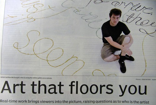 Art that floors you - media image
