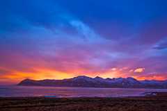In Fáskrúðsfjörður (*Jonina*) Tags: winter sunset sea sky mountains reflection clouds iceland ísland vetur ský himinn hafið speglun fjöll sólsetur fáskrúðsfjörður faskrudsfjordur anawesomeshot absolutelystunningscapes