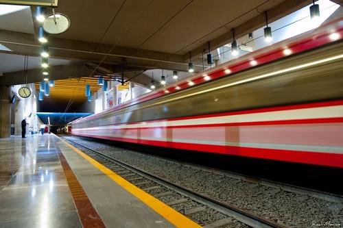 Tren Ligero, Estacion Juarez, Guadalajara Jalisco Mexico