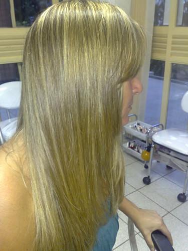 cabelo com balaiagem
