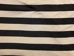 Super-Soft Chaiken Rayon Lycra Striped Knit