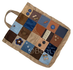 Eco Friendly Shopping Bag, no.5 (Milieuvriendelijke Boodschappentas) (Made by BeaG) Tags: blue bag design blauw belgium squares recycled handmade lace buttons unique sewing creative felt jeans homemade tas patchwork recycle handbag sewn fabrics bruin reuse kant reclaim brow reused repurpose knopen vilt fauxsuede naaien recyclage handmadebag stoffen creatief handtas zelfgemaakt vierkantjes beag brownandblue hergebruik fauxleather indiedesigner creativedesign homemadebag indieartist ecofriendlybag recycledfabrics ecofriendlyshoppingbag genaaid designedandmadebybeag ontworpenengemaaktdoorbeag handgemaaktetas creatiefontwerp milieuvriendelijketas zelfgemaaktetas millieuvriendelijkeboodschappentas bruinenblauw hergebruiktestoffen