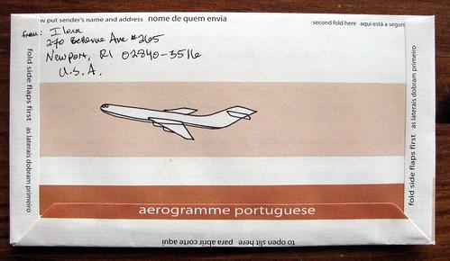 aerogramme portuguese