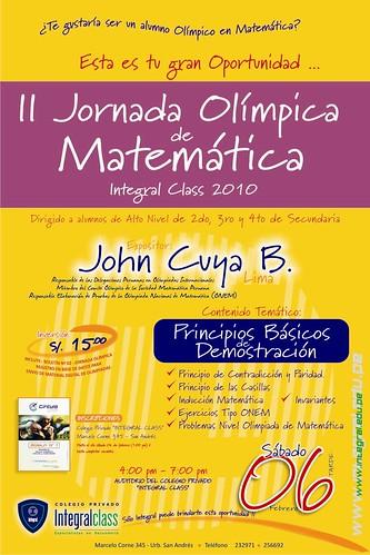 II Jornada Olimpica - John Cuya