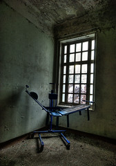 The chair (Maron) Tags: abandoned window hospital dark empty room lier mental supermarion marionnesje