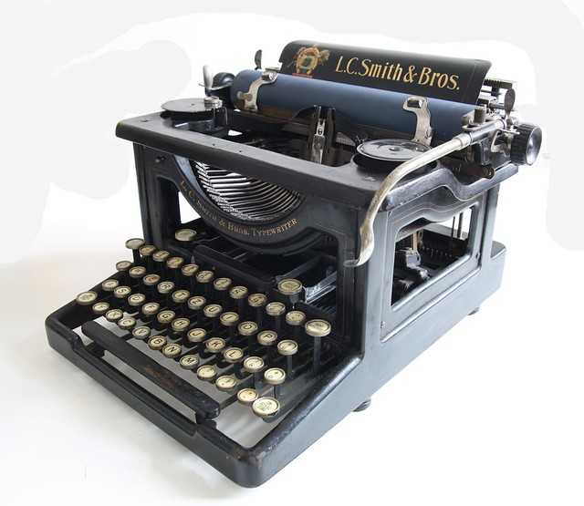 L.C. Smith 5 typewriter