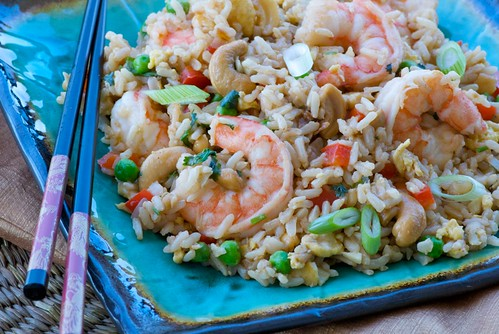 shrimp brown fried rice DSC_0017