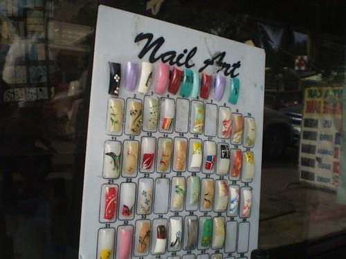 arte en las uñas en cabarete