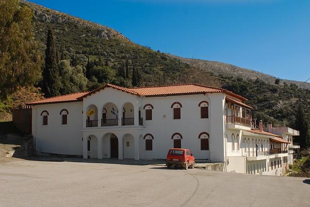 Μοναστήρι Αγίου Νικολάου - Άνω Βάθεια, Εύβοια