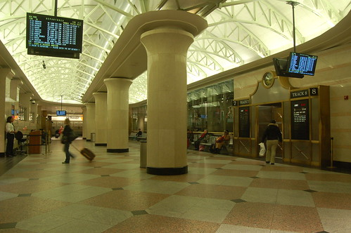 Penn Station Upper Level - NJT concourse