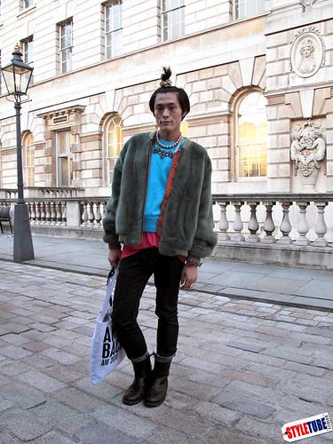 fashion writer Yu Masui by ilook2.