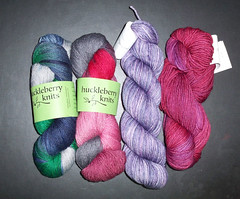 Loopy Ewe - Huckleberry Knits - Madelinetosh dk
