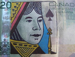 Flickr Defaced Currency The Queen