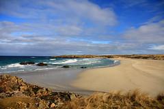 Carribean?  no Tiree (howbeg) Tags: blue beach beautiful island scotland peace argyll tranquility carribean waters sands hebridean