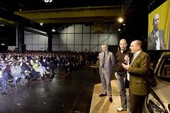 André Lange bei Opel-Betriebsversammlung