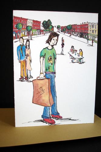 South Broadway - Nyack note card