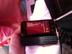 Checking out the Nokia n97 mini