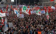MANIFESTAZIONE CONTRO IL DECRETO SALVA LISTE 13 MARZO PIAZZA DEL POPOLO A ROMA (IDV Staff) Tags: roma del il piazza 13 popolo marzo salva manifestazione liste contro a decreto