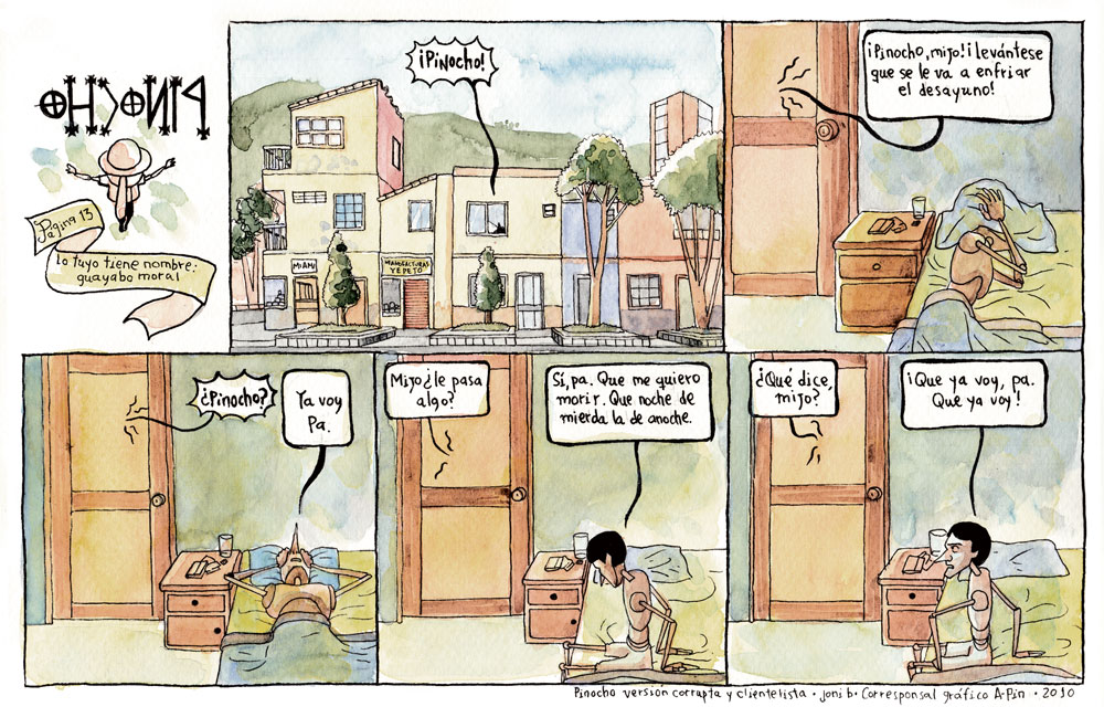 PÁGINA 13: LO TUYO TIENE NOMBRE: GUAYABO MORAL