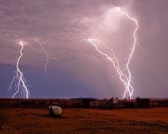 January Lightning (Marvin Bredel) Tags: oklahoma weather night clouds bravo nighttime thunderstorm lightning marvin hdr photomatix kingfishercounty marvin908 bredel marvinbredel