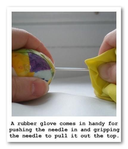 Rubber Glove Help Poloroid