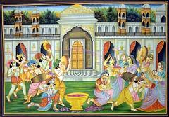 Radha-Krishna-Vrindavan-Holi (cypher88888888) Tags: krishna holi chor gopal radha garba nand vrindavan gopi govind giridhar mahabharat balram makhan jashoda