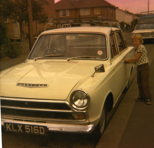 May Hamilton's Father-in-Law's Car, 1960s.
