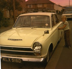 Image titled May Hamilton's Father-in-Law's Car, 1960s.