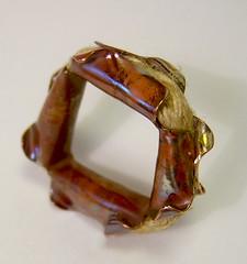 R-A-D #51 3/29/10 (markasky) Tags: square rad ring copper hemp rad2010 rad51 rad32910