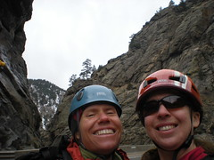 Jenny & Climbergirl Feeling High After High Wire