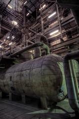Tank (jrej www.gregoirec.com) Tags: plant abandoned industry station kohle power pentax ddr powerplant kraftwerk coal hdr gdr k7 sigma1020mmf456exdc vockerode