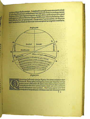 Woodcut diagram from Albumasar: Introductorium in astronomiam