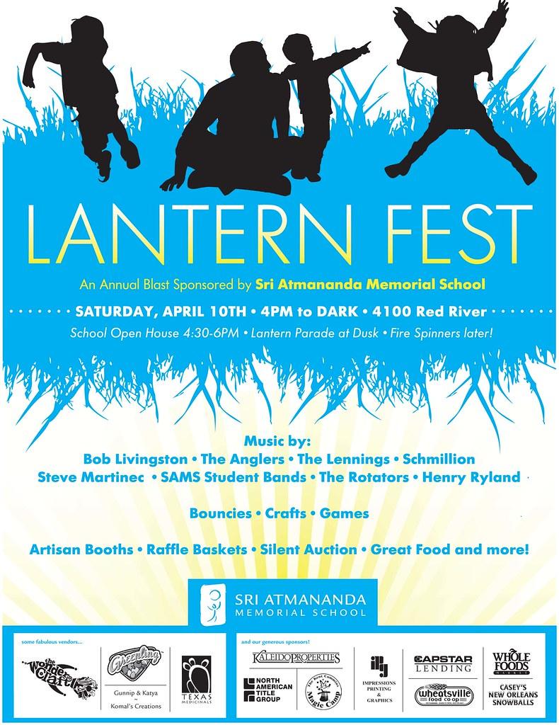 Lantern Fest Flier