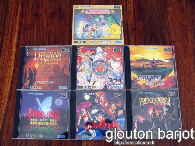 Jeux mega cd 8-04-10