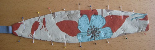 Pinned and Pressed Headband