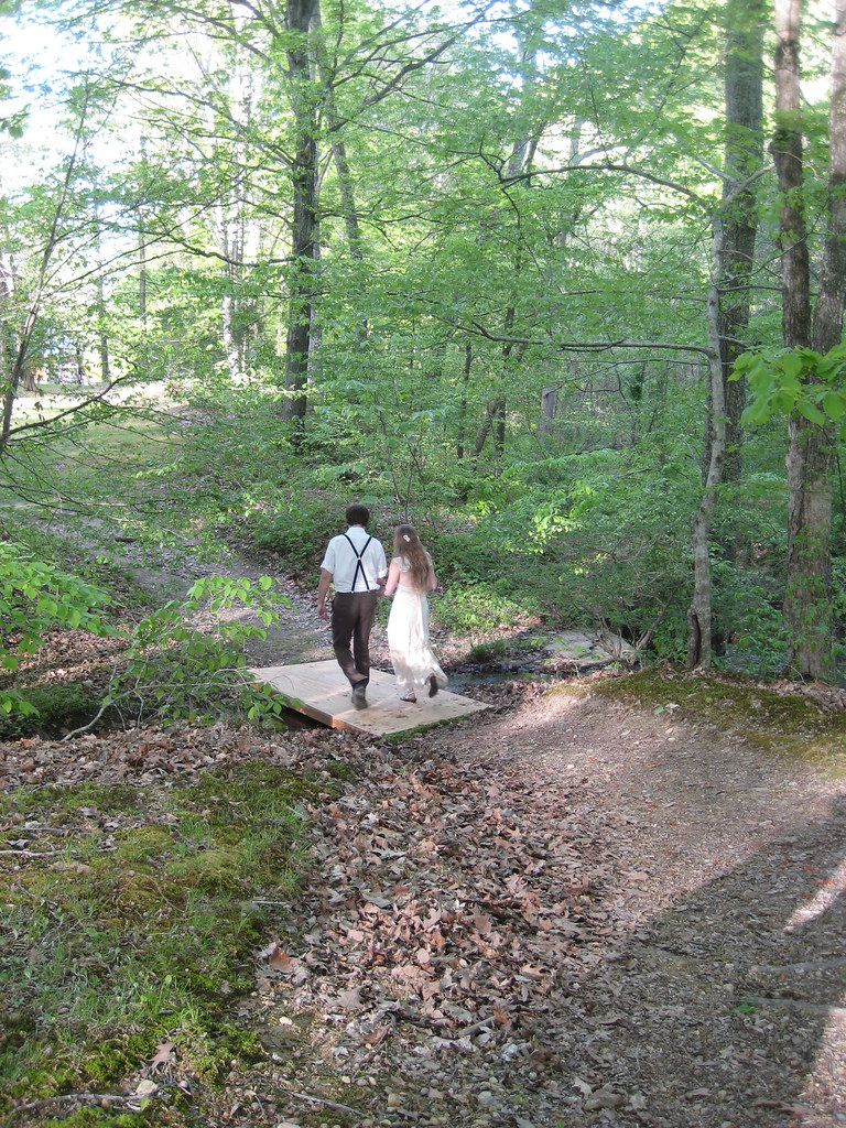 a spring wedding