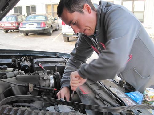 Cale, Truck Repairs