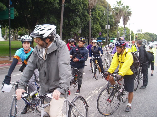 Blessing of the Bikes-DTLA Ride 2011 030