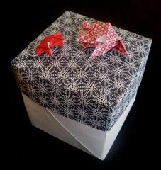 Tsuzura (Retsnimel) Tags: origami box frog modular boxes kami washi modularorigami chiyogami tomokofuse romandiaz tsuzura