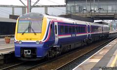 175110 (Tutenkhamun Sleeping) Tags: uk england train diesel britain transport rail railway gb british staffordshire stafford passengertrain dmu fnw dieselmultipleunit firstgroup class175 multipleunit staffordstation firstnorthwestern 175110