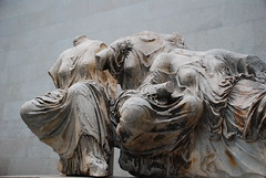 Hestia, Dione and Aphrodite, East Pediment (Lauren J Brown) Tags: england sculpture london statue museum greek europe parthenon classical marble britishmuseum pediment thebritishmuseum ancientgreek capitalcity