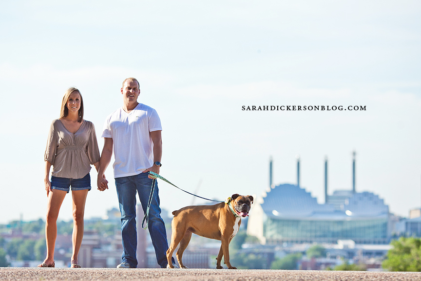 Kansas City Liberty Memorial engagement photos