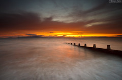 Under A Blood Red Sky (.Brian Kerr Photography.) Tags: longexposure sunset sea sky seascape weather clouds canon landscape posts silloth criffel dumfries galloway eos5dmkii briankerrphotography briankerrphoto