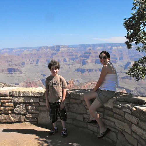 Gage & Ruth, Grand Canyon 2011